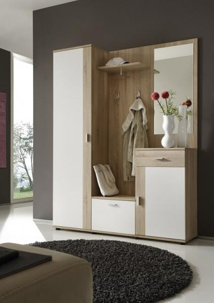 birmingham garderobe sonoma wei komplettgarderobe. Black Bedroom Furniture Sets. Home Design Ideas