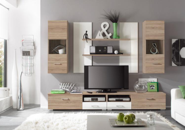 wohnwand sonoma wohnwande eiche angenehm auf wohnzimmer ideen auch best ideas about wohnwand. Black Bedroom Furniture Sets. Home Design Ideas